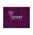 Event agency logo vector