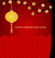 Chinese new year background with chinese new year vector