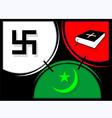 Religious symbol vector