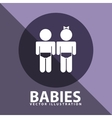Babies icon design vector