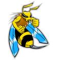 Hornet mascot vector
