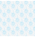Seamless pattern with decorative stylized sun vector