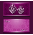 Greeting card with nice ornament vector