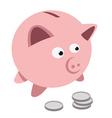 Piggy bank vector