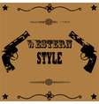 Western style background vector