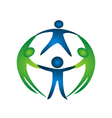 Group of teamwork logo vector