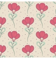 Beige spring or summer seamless pattern vector