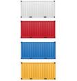 Cargo container 02 vector