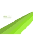 Abstract background of green elements vector