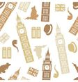 England seamless pattern vector