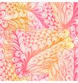 Seamless floral vintage pink pattern vector