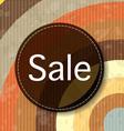 Retro sale background vector