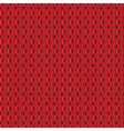 Delicate seamless knitted background vector