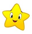 Cartoon little star vector
