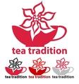 Tea tradition vector