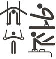 Gymnastics artistic vector