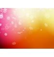 Christmas template on orange background eps 10 vector