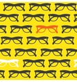 Yellow sunglasses background vector