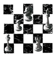 Chess black white graphics print game print man vector