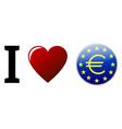 I love euro vector