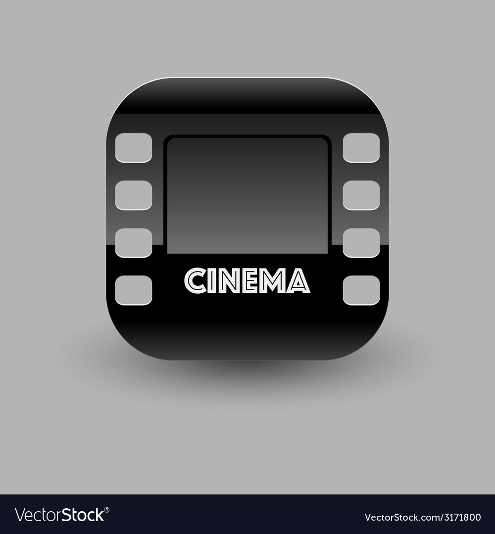 Cinema icon eps10 vector | Price: 1 Credit (USD $1)