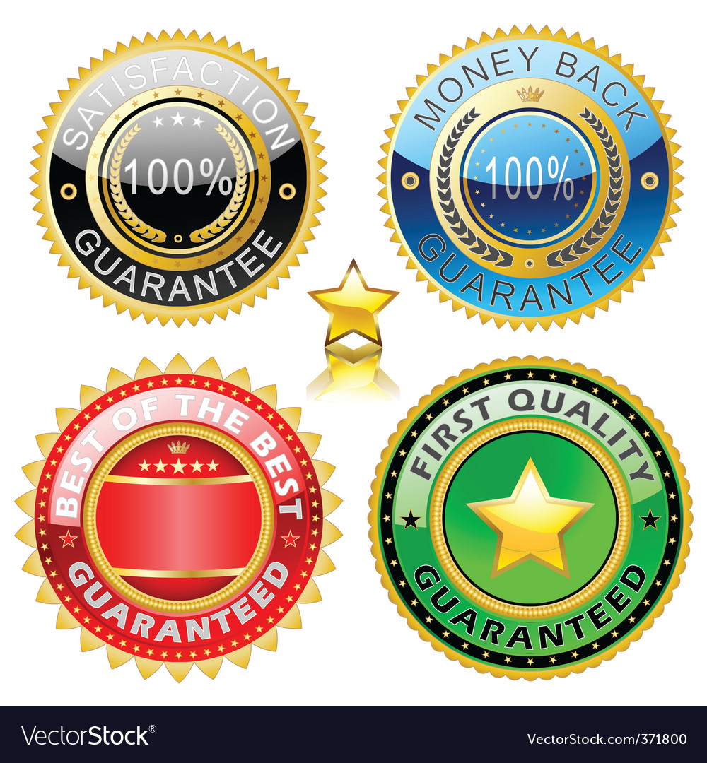 Quality sign vector | Price: 1 Credit (USD $1)