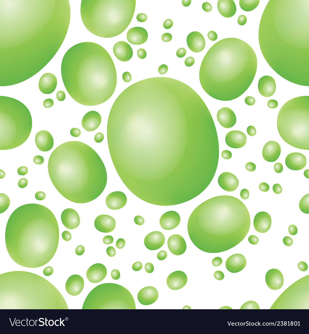 Green peas seamless pattern vector | Price: 1 Credit (USD $1)