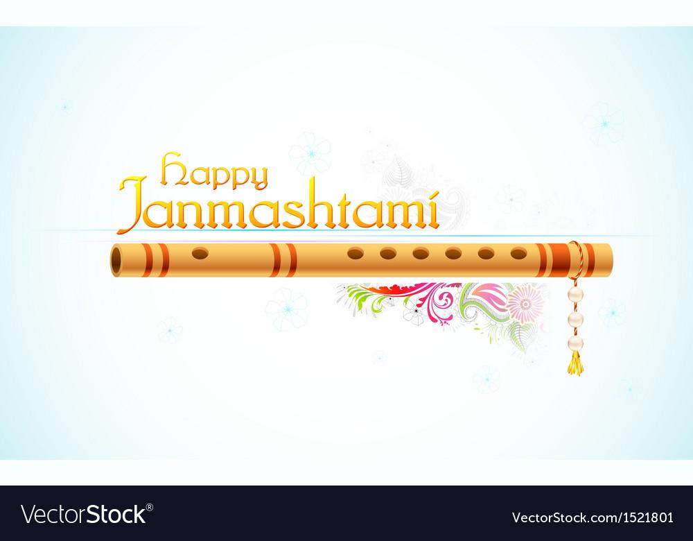 Happy janmasthami vector | Price: 1 Credit (USD $1)