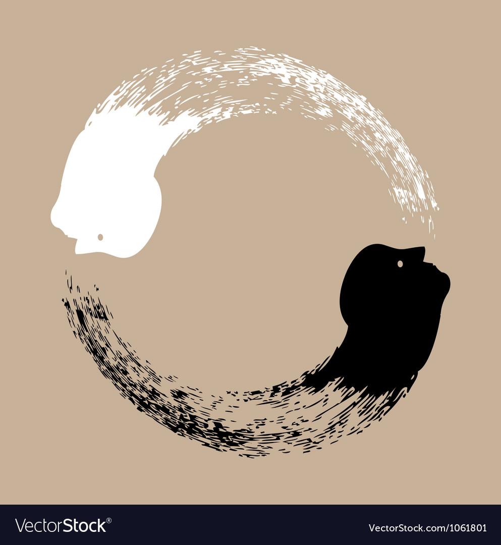 Taichi yin and yang vector   Price: 1 Credit (USD $1)
