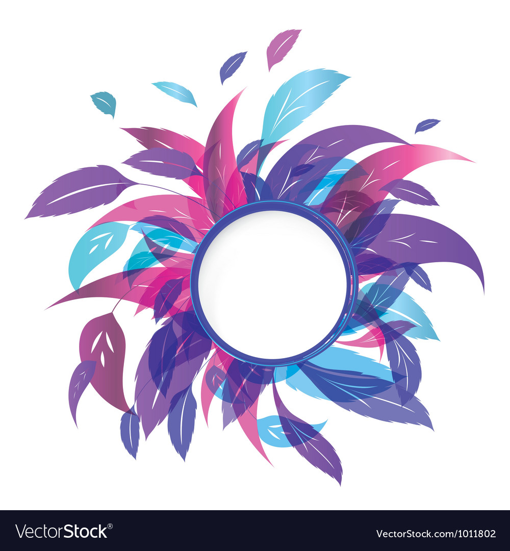 Frozen leaves vector | Price: 1 Credit (USD $1)