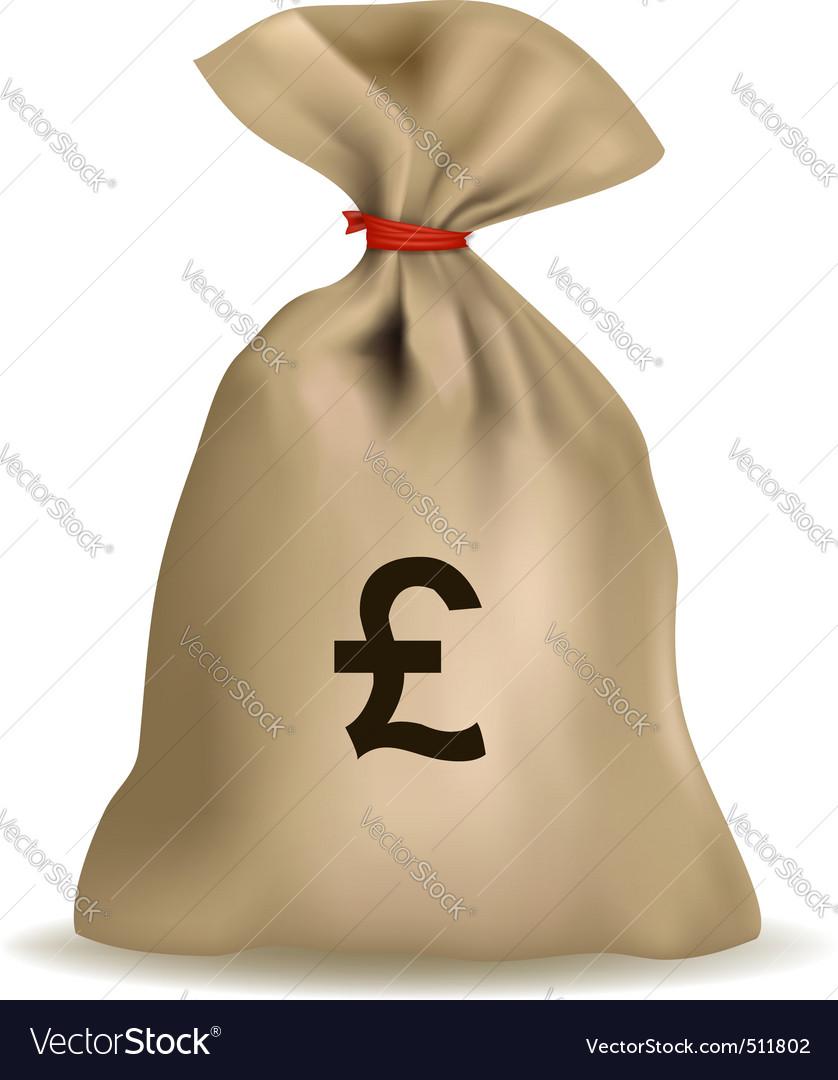 Sack of money vector | Price: 1 Credit (USD $1)