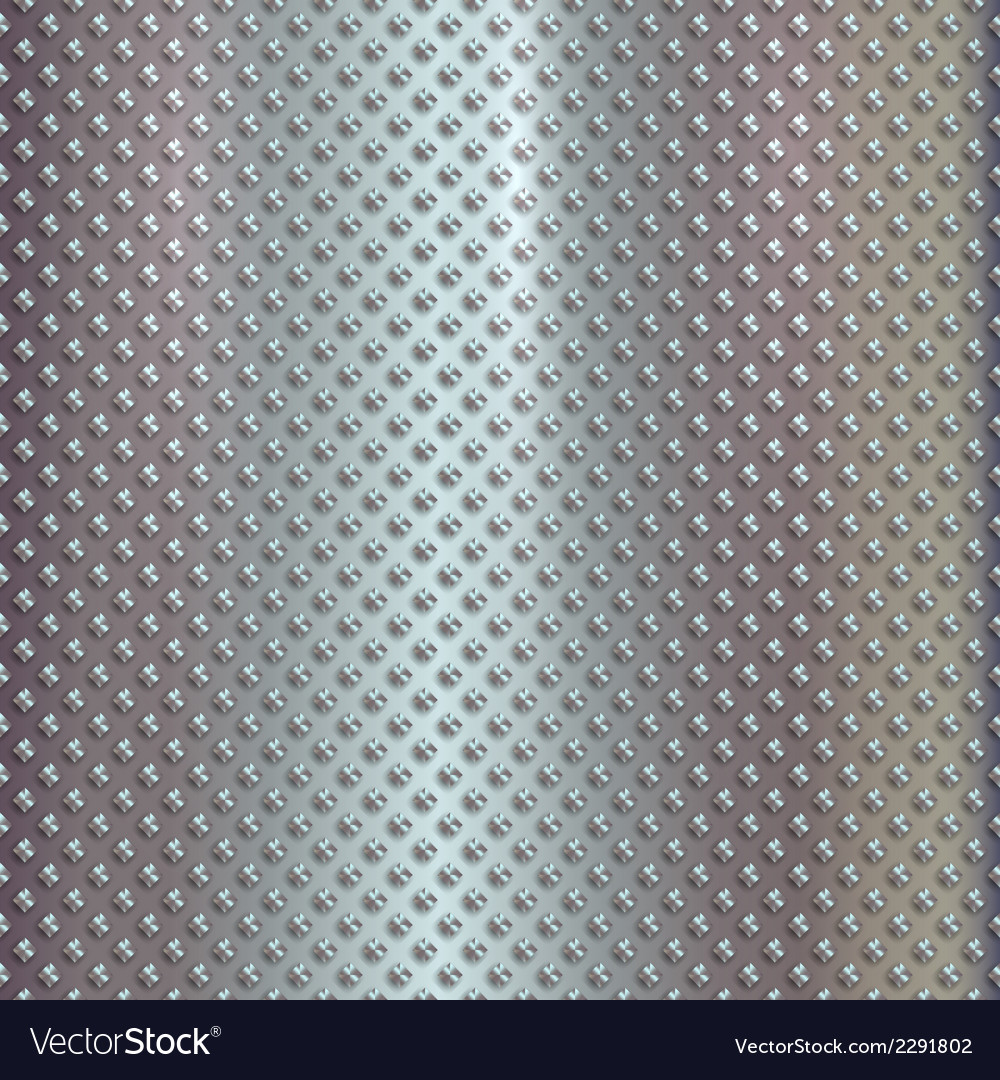 Silver grille on steel background vector | Price: 1 Credit (USD $1)