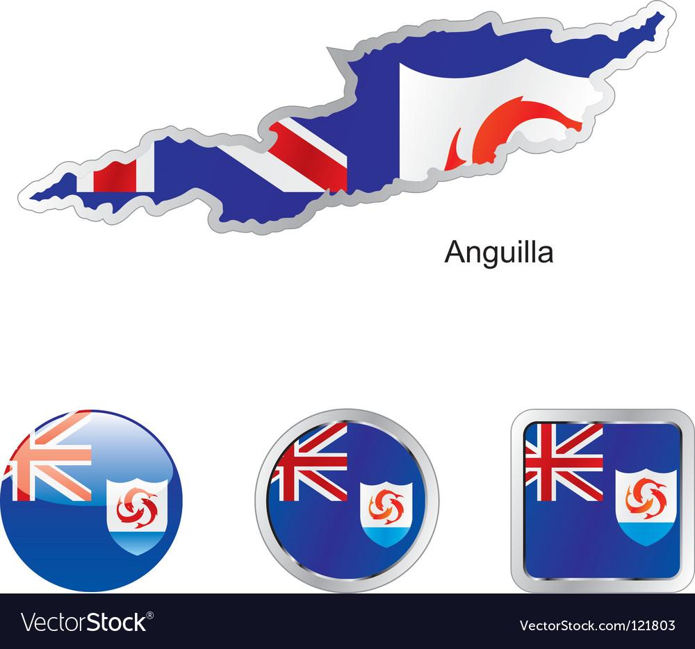 Anguilla vector   Price: 1 Credit (USD $1)