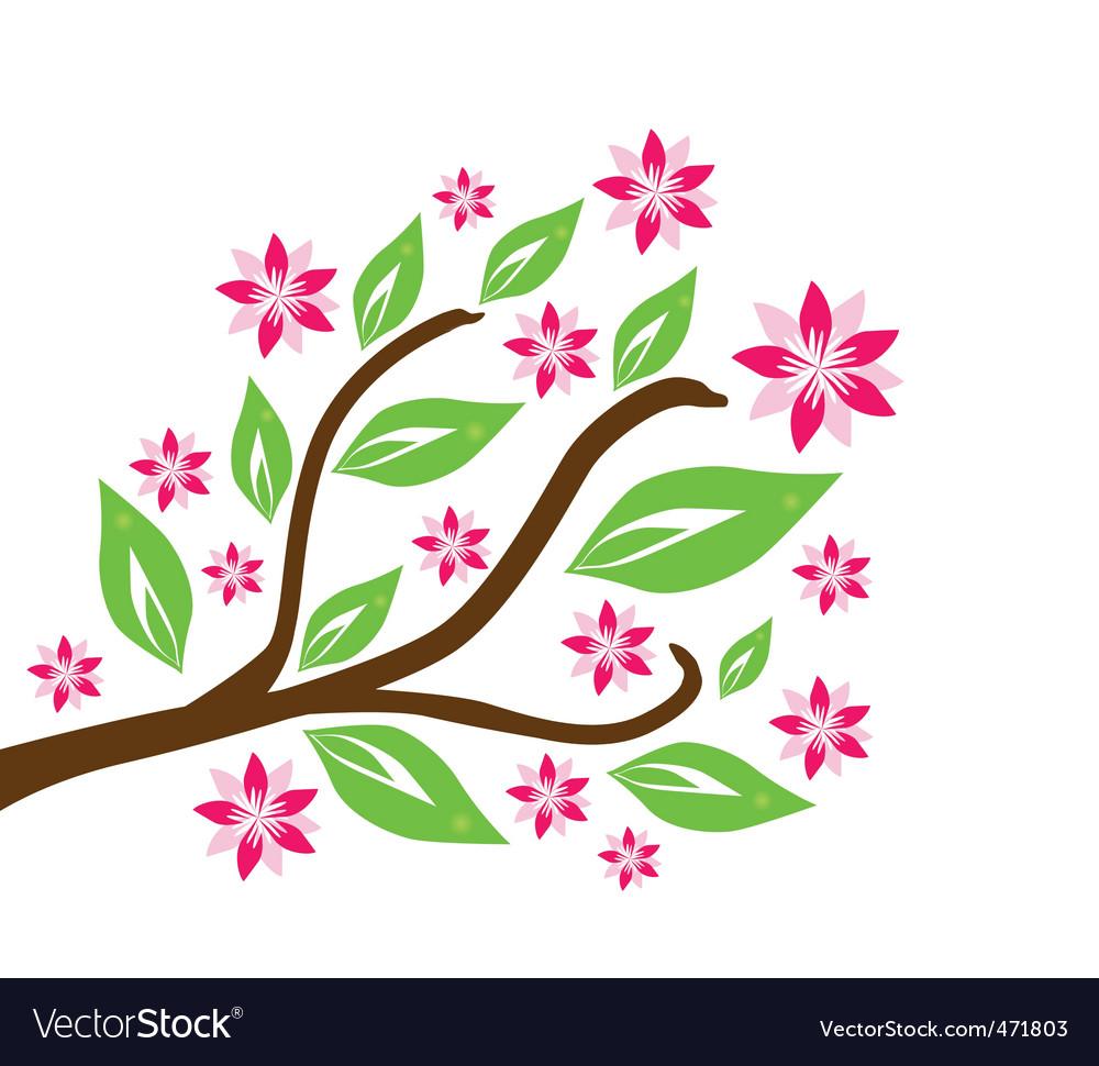 Floral branch vector   Price: 1 Credit (USD $1)