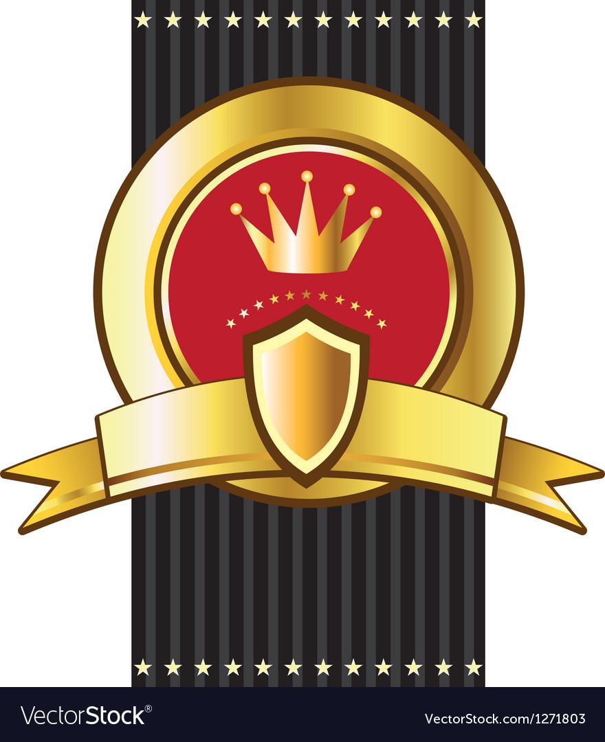 Luxury heraldry frames vector | Price: 1 Credit (USD $1)