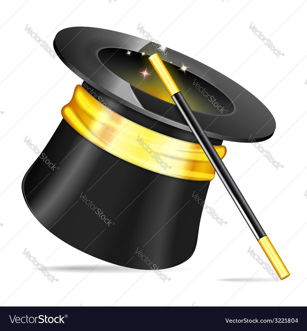 Magician hat vector | Price: 1 Credit (USD $1)