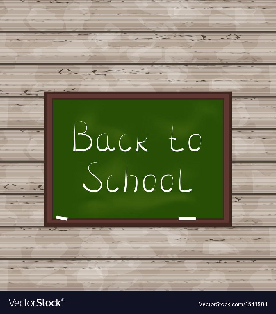 School green board on wooden texture vector | Price: 1 Credit (USD $1)