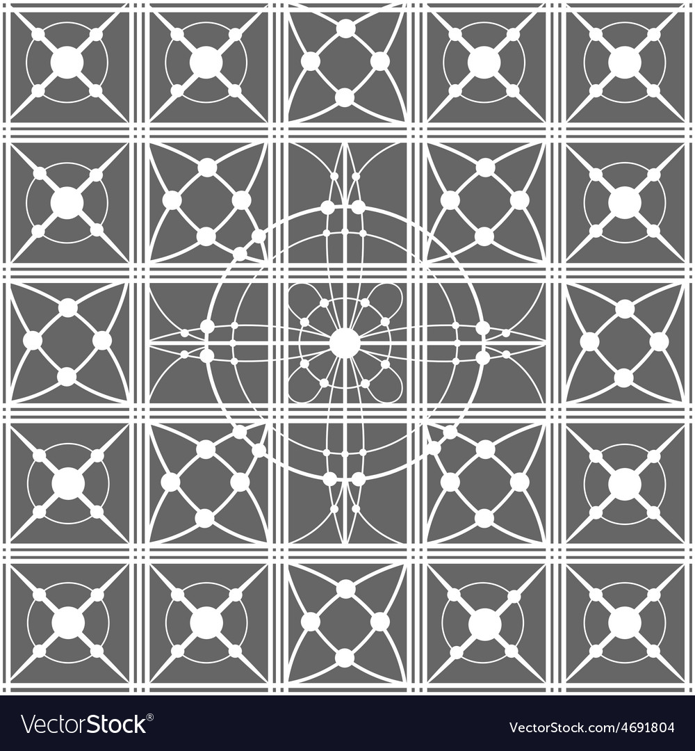 Seamless pattern with white lace vector | Price: 1 Credit (USD $1)