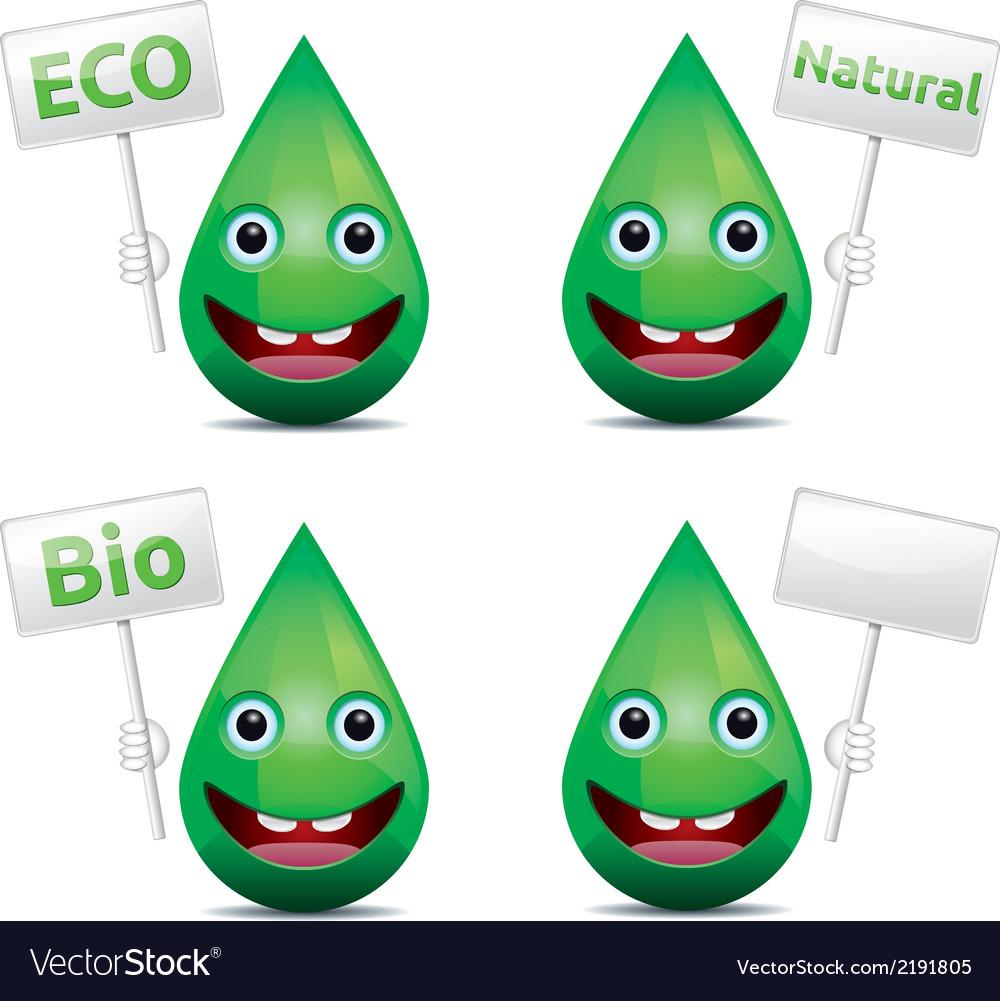Eco drop vector   Price: 1 Credit (USD $1)