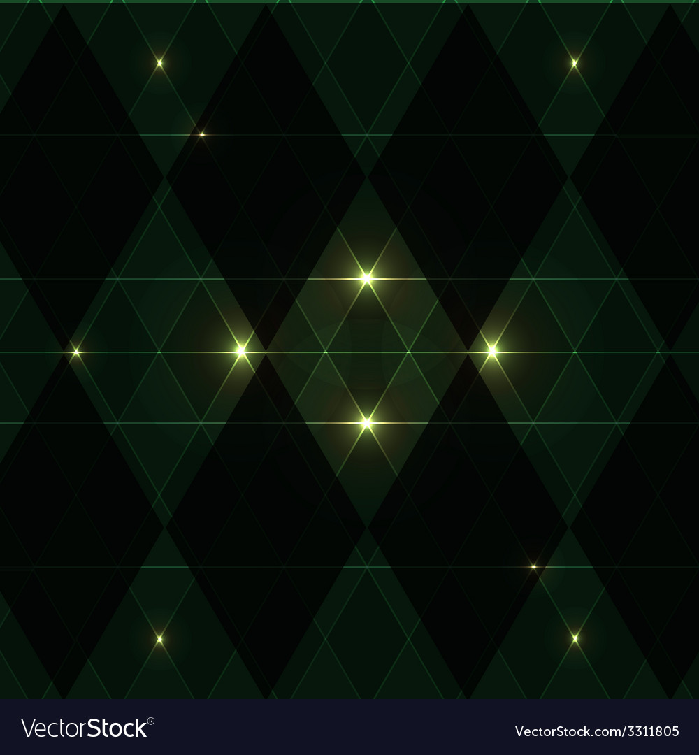 Green wink vintage pattern background vector | Price: 1 Credit (USD $1)
