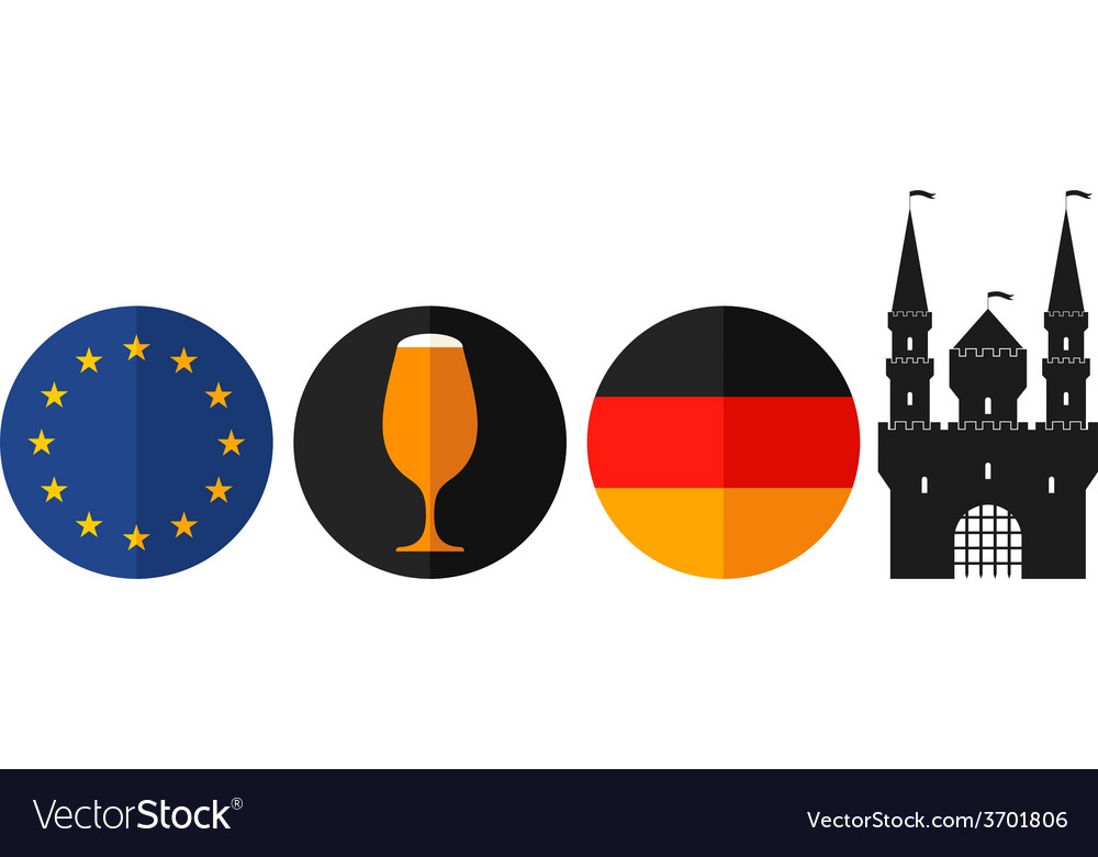 Germany vector | Price: 1 Credit (USD $1)