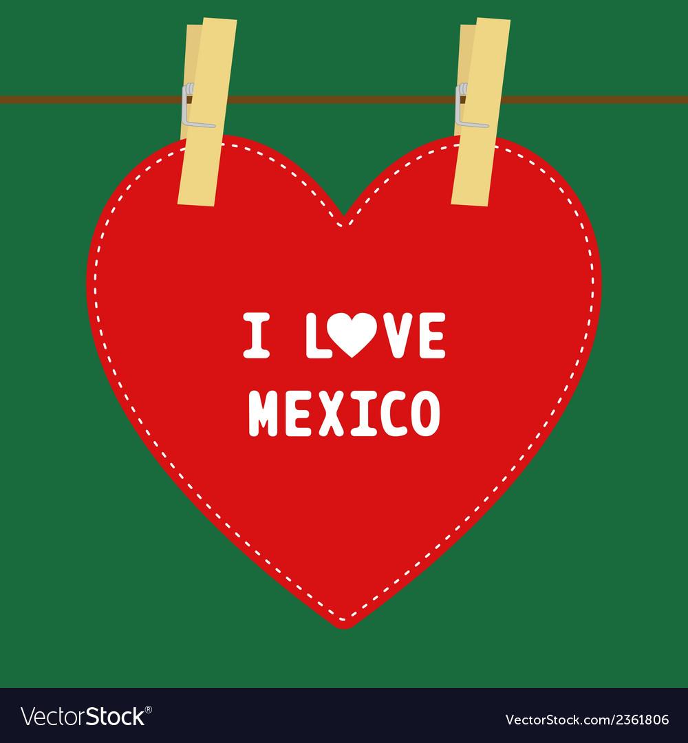 I love mexico5 vector   Price: 1 Credit (USD $1)