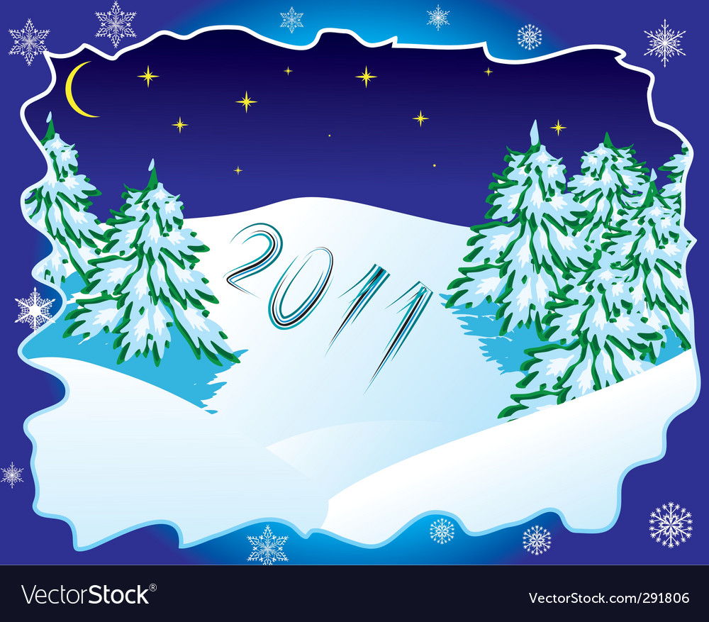 New years eve 2011 vector | Price: 1 Credit (USD $1)