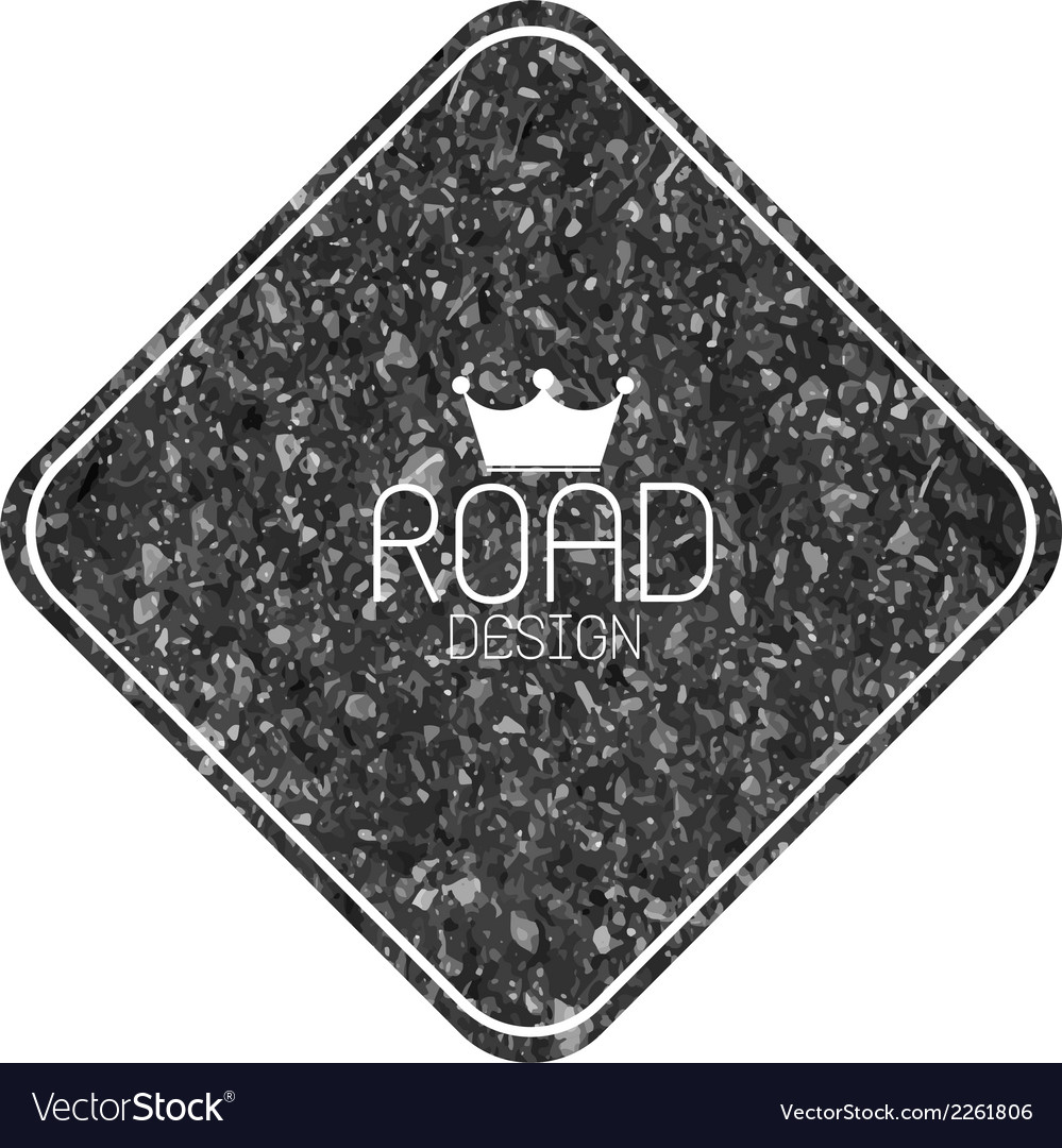 Set of road blank retro vintage badges and labels vector | Price: 1 Credit (USD $1)