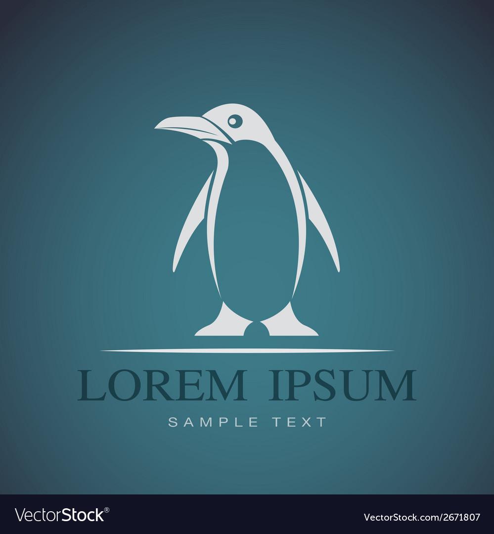 Penguin vector | Price: 1 Credit (USD $1)