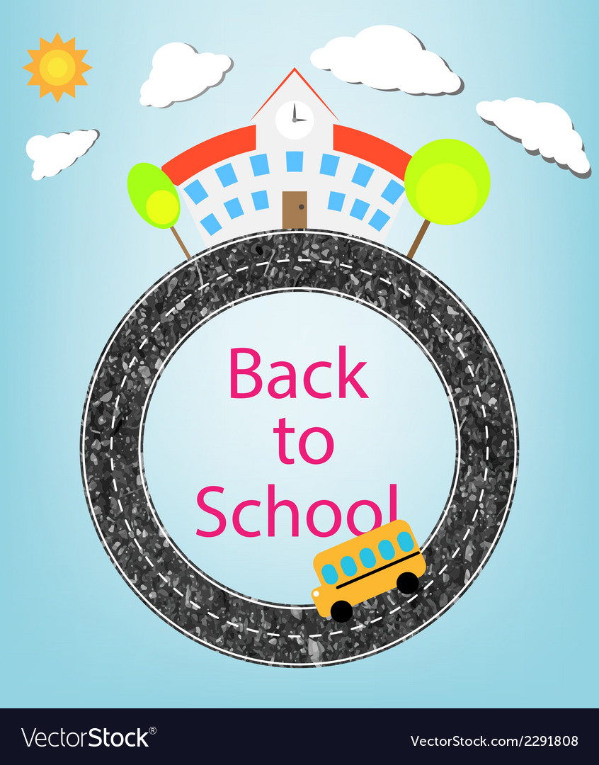 School and back to school vector | Price: 1 Credit (USD $1)