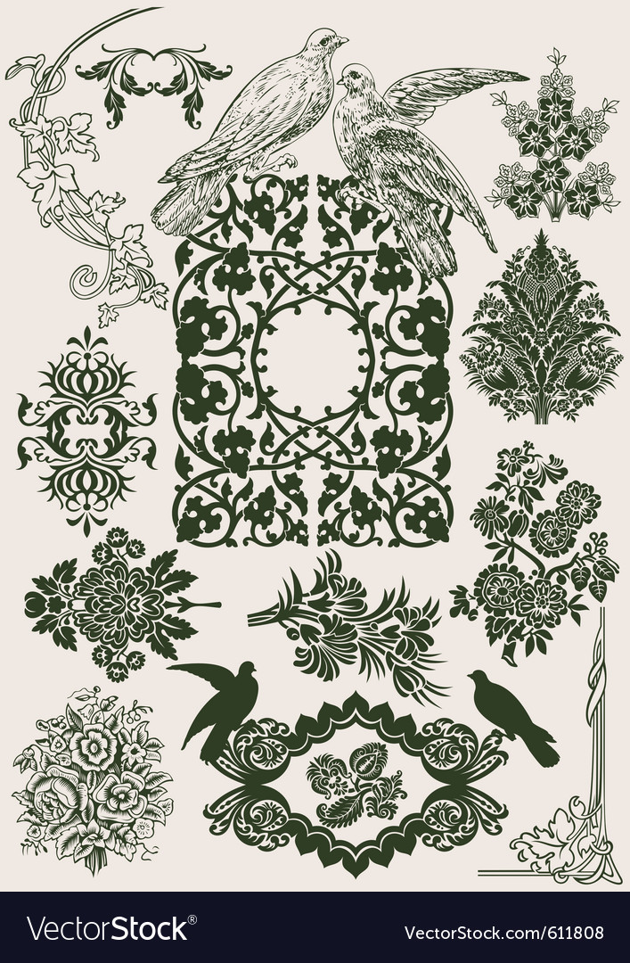 Vintage royal design vector | Price: 1 Credit (USD $1)