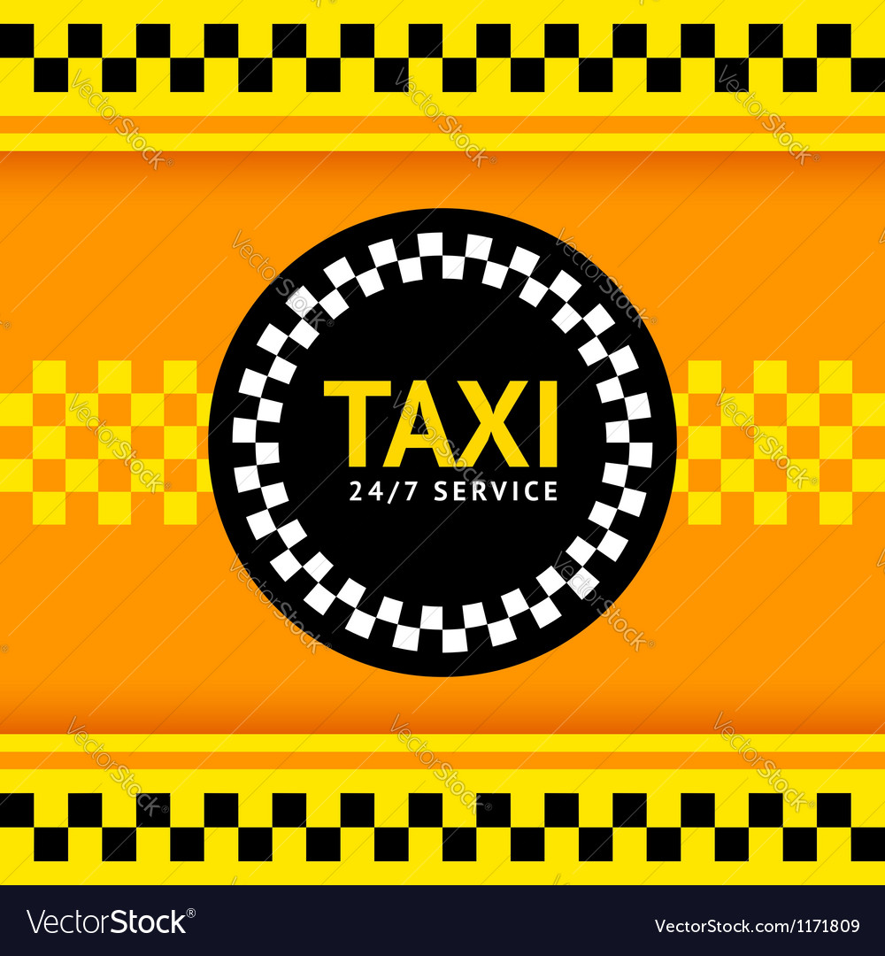 Taxi symbol vector | Price: 1 Credit (USD $1)