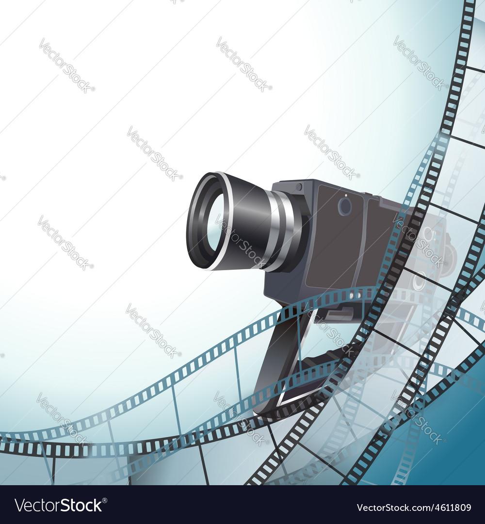 Video camera vector | Price: 3 Credit (USD $3)