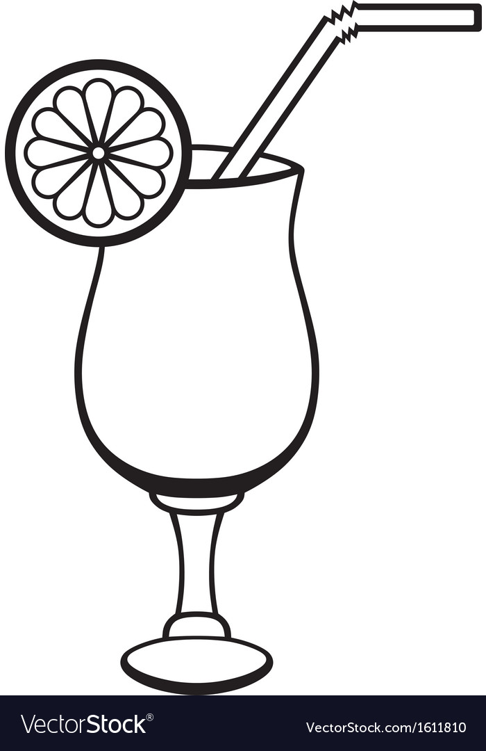 Symbol cocktail vector | Price: 1 Credit (USD $1)